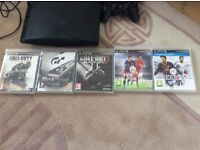 Play station 3 not used much plus 5 games collect from handbridge maybe deliver within few miles
