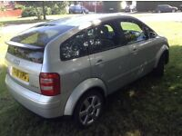 AUDI A2 TDI £30 a year road tax