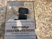 TomTom Golfer Premium GPS watch limited edition with Italian