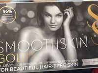Smoothskin Gold IPL device for hair free skin