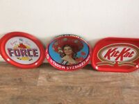 Collection of vintage trays 3 vintage