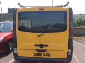 Vauxhall Vivaro ( ex AA van). 2006