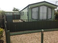FABULOUS 6 BERTH STATIC CARAVAN.2013 AS NEW, SITUATED IN HERONS MEAD, ORBY, 2 MILES FROM INGOLDMELLS