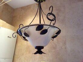 Decorative retro light fittings