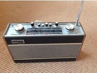 Vintage Roberts R606-MB - 3 Wavebands Mains/Battery Radio