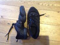 Bloch split sole dance shoes size 4 (uk)