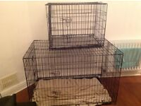 Dog crates for sale x 2