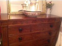 Scottish antique chest of drawers
