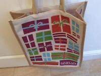 Sea salt canvas bag
