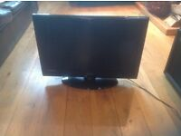26in Technika LCD TV. Free view, DVD, HD ready, USB. Good condition. With stand
