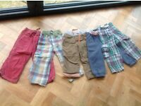 Mini boden and joules boys 3-4 yrs trousers bundle x5
