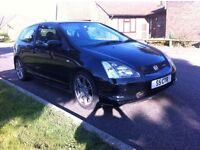 ***FOR SALE*** 2003 Honda Civic Type R edition. Private reg included in sale.