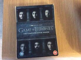 DVD Game Of Thrones Season 6