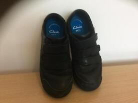 Boys shoes, size 2, Clarks