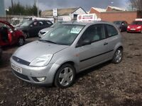 2003 03 FORD FIESTA 1.2 NO MOT SPARES OR REPAIRS GOLD DRIVER £295