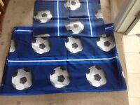 Single bed football duvet set