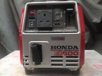 Honda ex 500 generator.