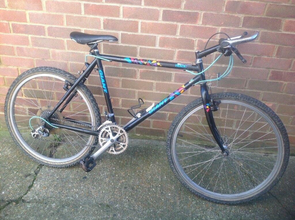 Retro 1990 Giant Track 21 Speed Mountain Bike | in Portslade, East ...