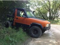 Landrover discovery 300tdi off road