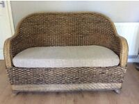 Marks and Spencer Rattan Conservatory Suite - 2 Seater with matching arm chairs
