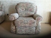 Lift and Tilt Electric Armchairs x 2