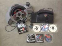 Gran Turismo Game Wheel & Games