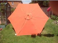 Large garden parasol