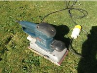 Bosch GSs 280a orbital sander 110v cost £170 sell for £40 Ono