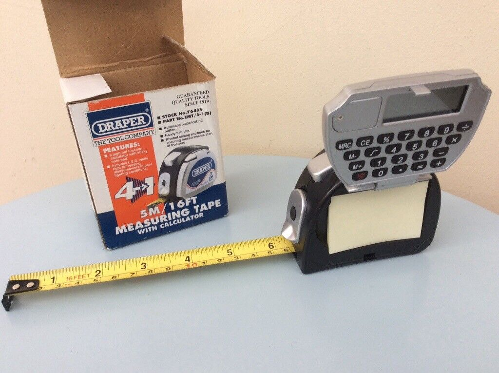 Draper 4 in 1 professional measuring tape