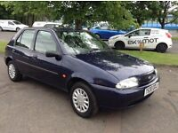 Low mileage Ford FIesta 1.2 LX full year mot great condition throughout