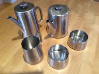 Old Hall Stainless Steel Tea/Coffee set.