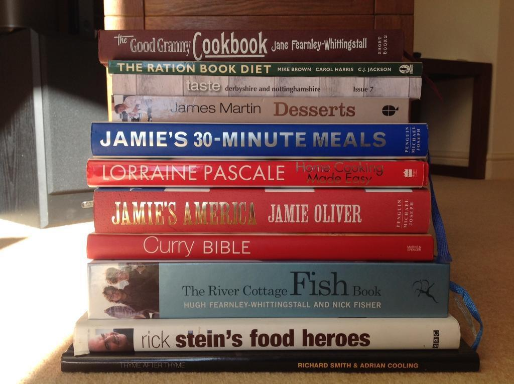 10 cookery books | in Melton Mowbray, Leicestershire | Gumtree