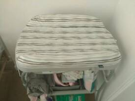 Changing table, with baby bath