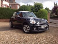 Mini Copper (Pepper) | 1.6 Petrol | 6 Speed Manual | Metallic Midnight Black | One Owner