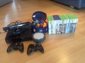 X-box 360, Kinect and games