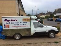 Jiffy JiffyTruck ,citroen C 15.original Jiffy Truck back including fridge and warmer. in