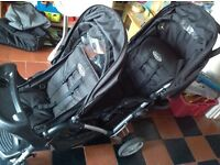 Graco double buggy, excellent condition (used a couple of times) bought for £175