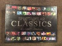 Classic CD collection (40 CDS never opened)