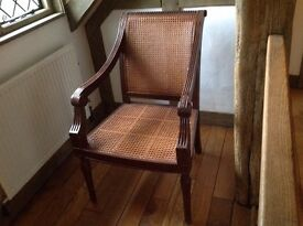 And So To Bed Louis XV Caned Chair