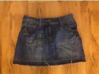 Denim Skirt Size 10