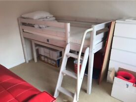 High Bed with Desk