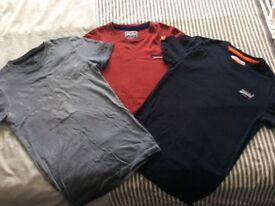 Selection of Superdry tshirts size XS