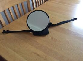 Mirror for rear facing baby car seat
