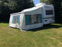 Swift kontiki motorhome 1997 6 berth with awning and safari room