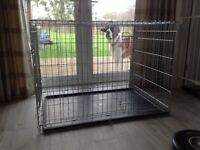 LARGE DOG CRATE/CAGE ,ROBUST & GREAT CONDITION