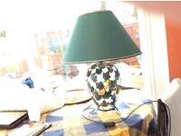 LARGE GREEN LAMP