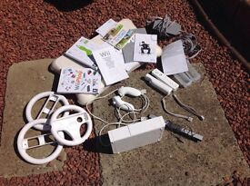 Wii bundle and wii balance board