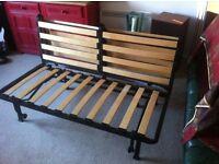 A sofa bed (frame)