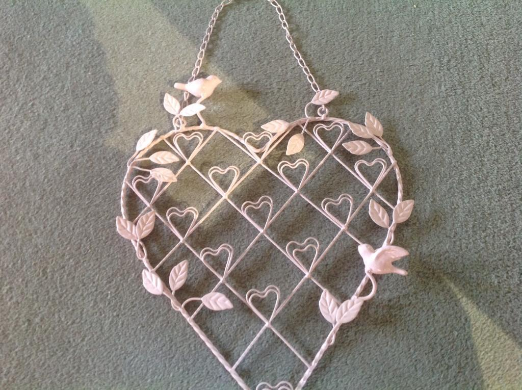 Heart shaped photo frame- wall hanging