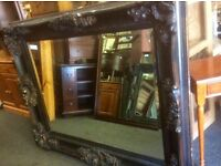 Big French style carved Mirror